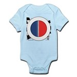 Cars Round Logo Blank Infant Bodysuit