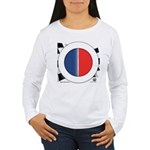Cars Round Logo Blank Women's Long Sleeve T-Shirt