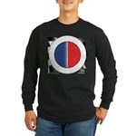 Cars Round Logo Blank Long Sleeve Dark T-Shirt