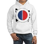 Cars Round Logo Blank Hooded Sweatshirt