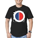 Cars Round Logo Blank Men's Fitted T-Shirt (dark)