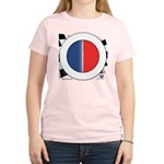 Cars Round Logo Blank Women's Light T-Shirt