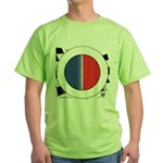 Cars Round Logo Blank Green T-Shirt