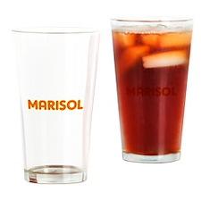 Marisol in Movie Lights Drinking Glass