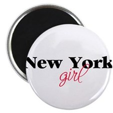 New York girl (2) Magnet