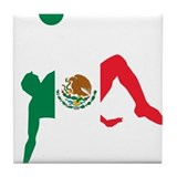 Mexico Soccer Tile Coaster