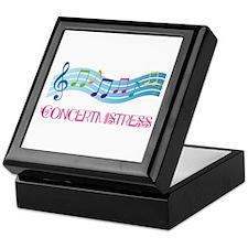 Concertmistress Musical Keepsake Box