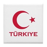 Turkey Tile Coaster