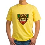 Turkey Bowl Yellow T-Shirt
