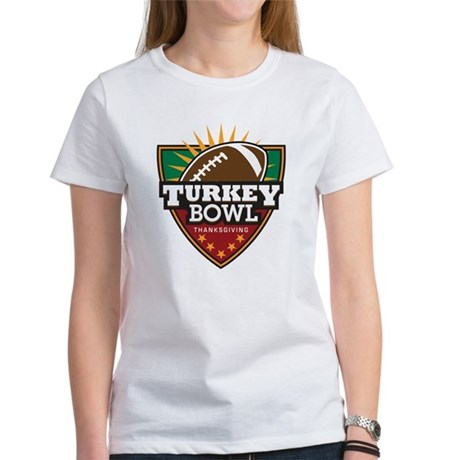 Turkey Bowl Women's T-Shirt