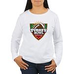 Turkey Bowl Women's Long Sleeve T-Shirt