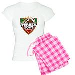 Turkey Bowl Women's Light Pajamas