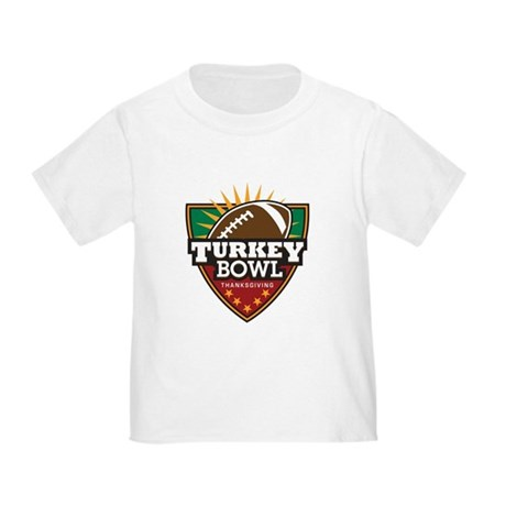 Turkey Bowl Toddler T-Shirt