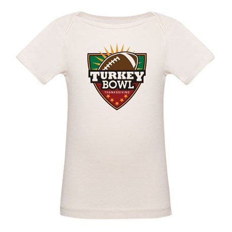 Turkey Bowl Organic Baby T-Shirt