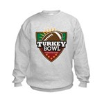 Turkey Bowl Kids Sweatshirt