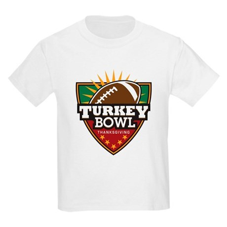 Turkey Bowl Kids Light T-Shirt