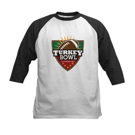 Turkey Bowl Kids Baseball Jersey