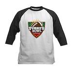 Turkey Bowl Kids Baseball Jersey