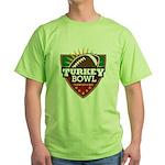 Turkey Bowl Green T-Shirt