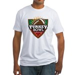 Turkey Bowl Fitted T-Shirt