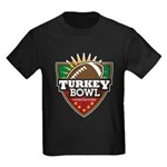 Turkey Bowl Kids Dark T-Shirt