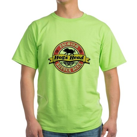 Hogs Head Butter Beer Green T-Shirt