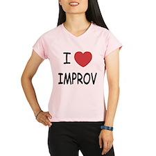 I heart improv Performance Dry T-Shirt