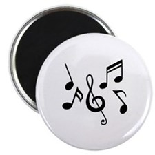 "Music notes 2.25"" Magnet (100 pack)"