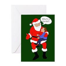 What's a dreidel? Greeting Card