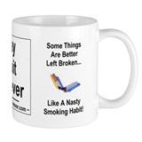 Cute Stop smoking Small Mug
