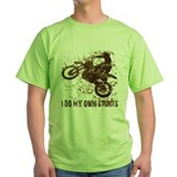 Motorcycle, Dirt Bike Stunts T-Shirt