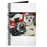 Schnauzer Christmas Holiday Journal