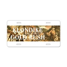 ABH Klondike Gold Rush Aluminum License Plate
