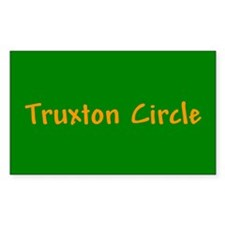 Truxton Circle Rectangle Decal