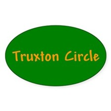 Truxton Circle Oval Decal