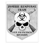Zombie Response Team: San Fra Small Poster