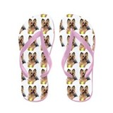 Cute Breeds Flip Flops