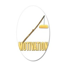 Motivation Twinkie 38.5 x 24.5 Oval Wall Peel