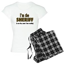 I'm the Sheriff pajamas