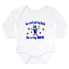 Not just my Uncle Long Sleeve Infant Bodysuit