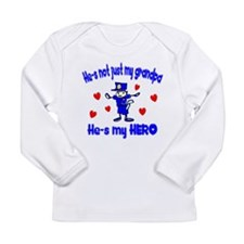 Not just my Grandpa Long Sleeve Infant T-Shirt