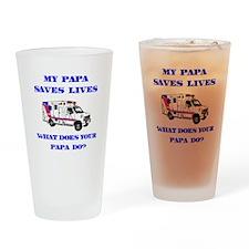 Ambulance Saves Lives-Papa Drinking Glass