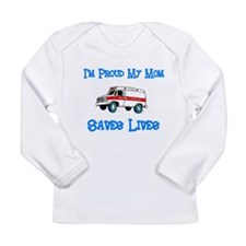 Ambulance Pride-Mom Long Sleeve Infant T-Shirt