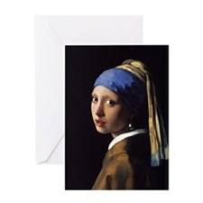 Artzsake Vermeer Greeting Card