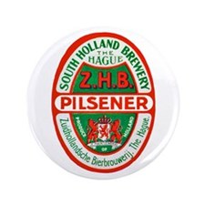 "Holland Beer Label 10 3.5"" Button (100 pack)"