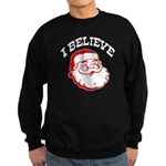 I Believe Santa Sweatshirt (dark)