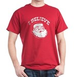 I Believe Santa Dark T-Shirt