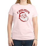 I Believe Santa Women's Light T-Shirt