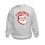 I Believe Santa Kids Sweatshirt