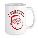 I Believe Santa Large Mug